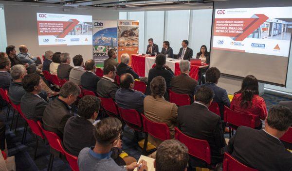 Exitoso diálogo técnico analizó los futuros proyectos de Metro de Santiago