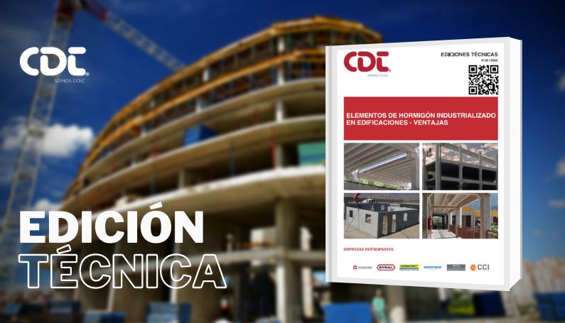 Hormigón Industrializado para edificaciones - Ventajas