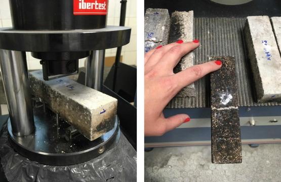 morteros con materiales reciclados