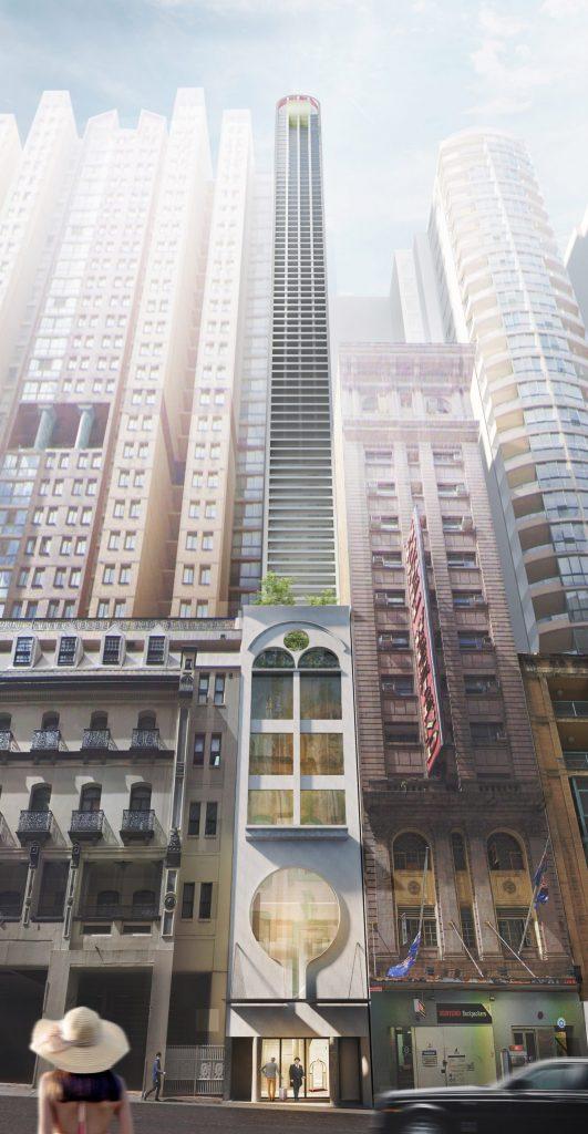"rascacielos ""ultra delgado"""