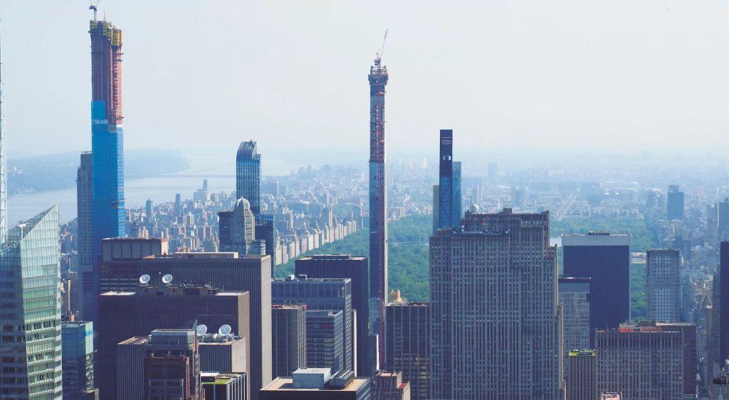 Rascacielos Superdelgados
