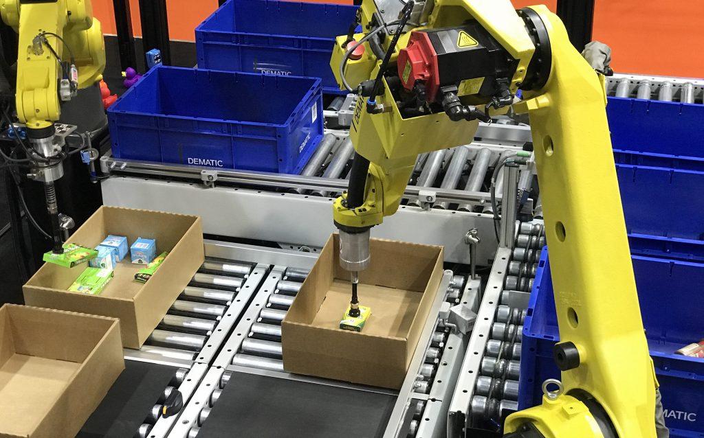 Robots Almacen y logistica