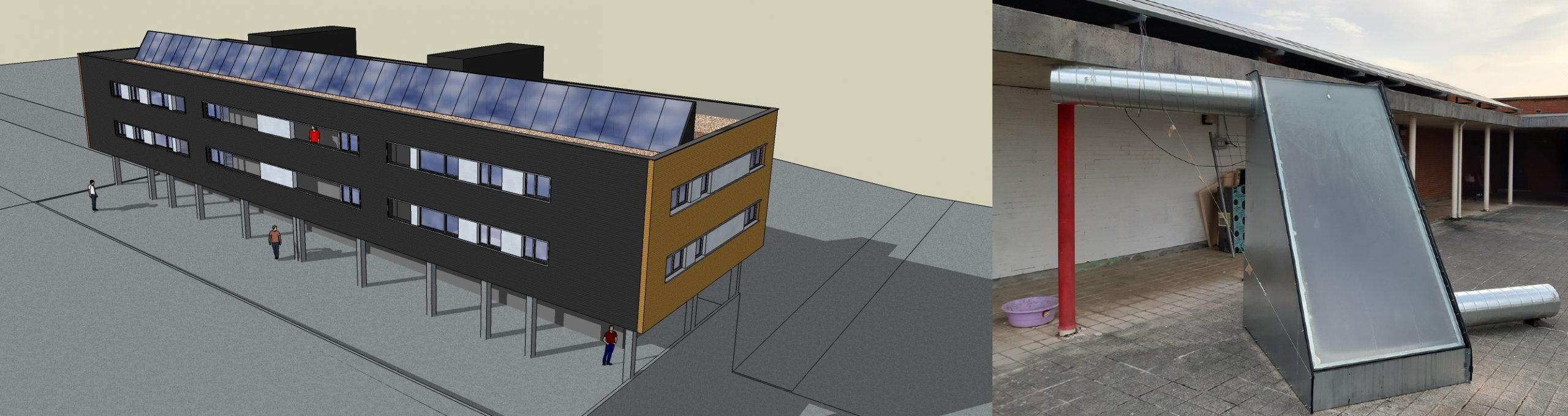 Invernaderos en cubiertas de edificios para reducir su consumo energético