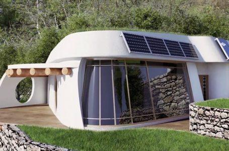 Lifehaus: La casa autosuficiente construida con materiales naturales y reciclados