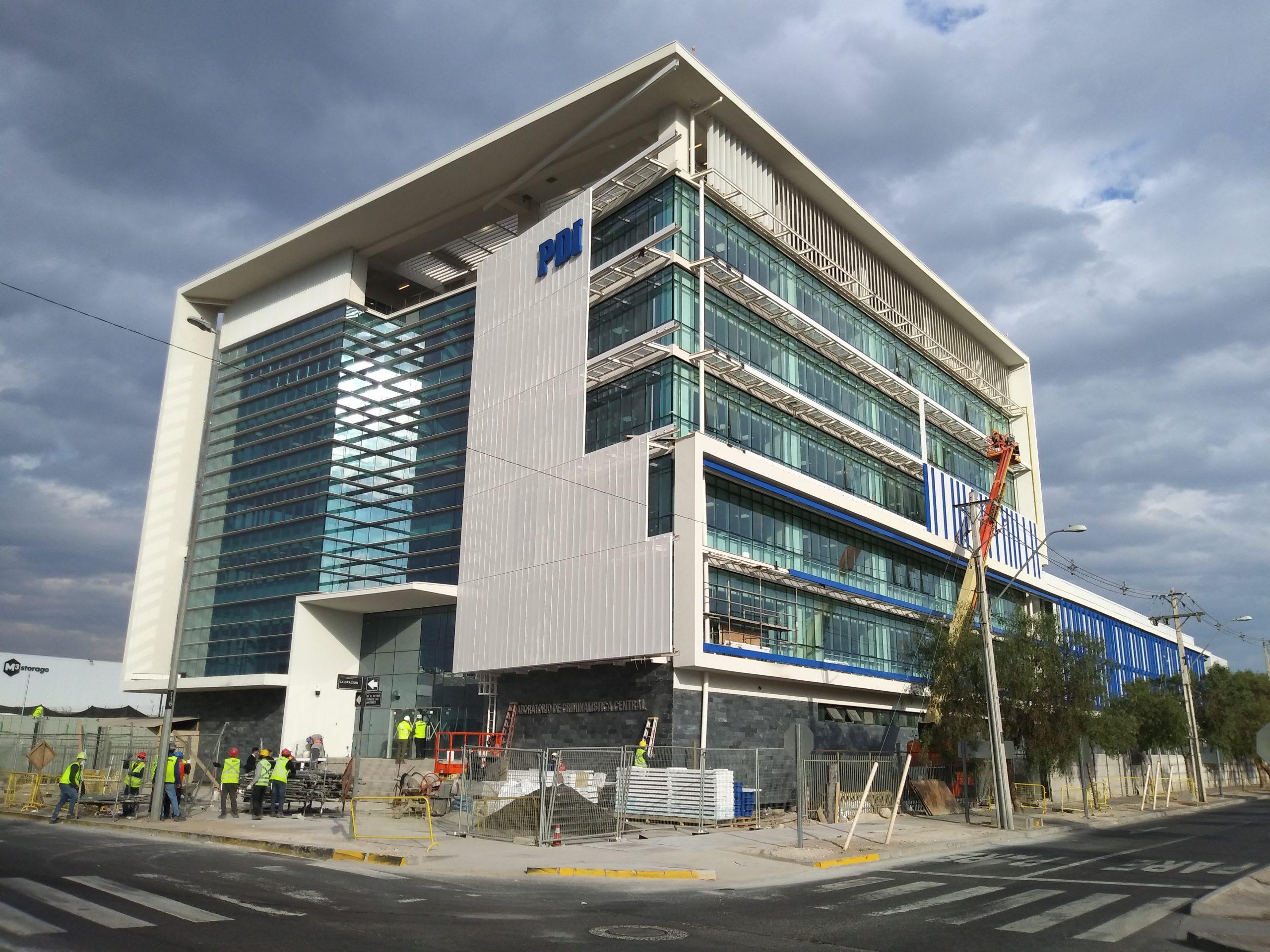Edificio LACRIM PDI: Alta precisión