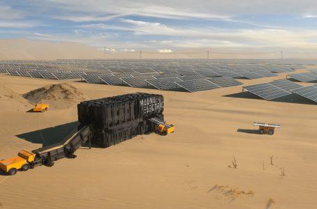 Fábrica modular crea paneles solares a partir de la arena